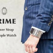 Prime:  stalen Apple Watch-band met verwisselbare batterijen