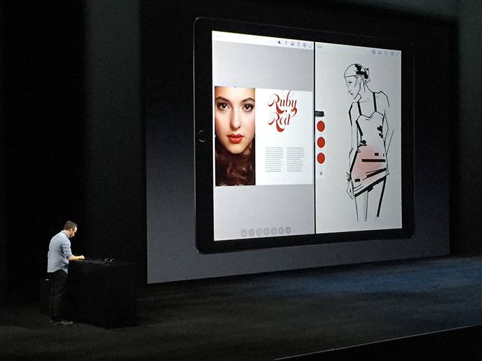 Adobe Photoshop Fix tijdens de Apple-keynote