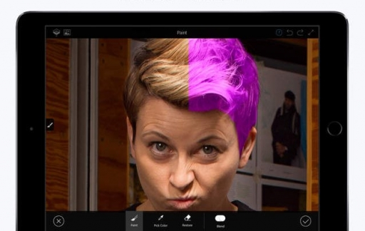 Photoshop Fix op de iPad