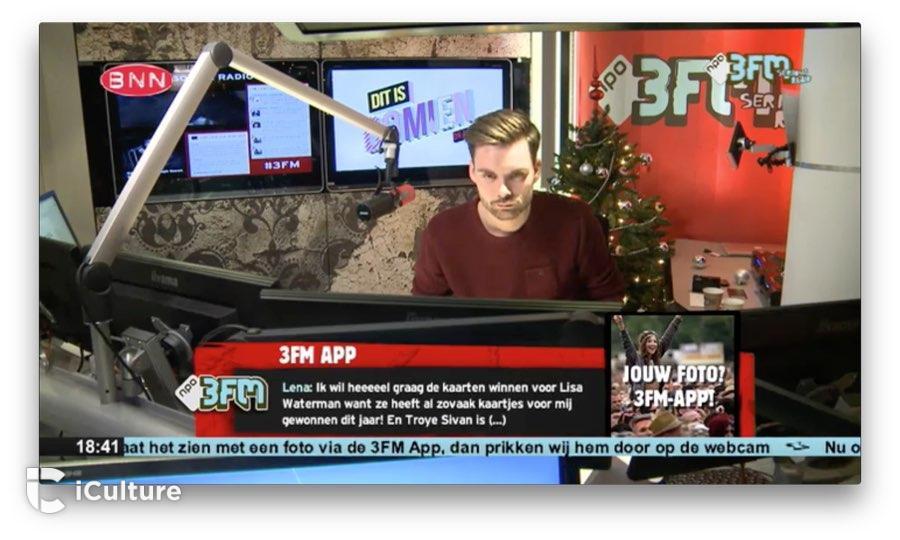 3FM op Apple TV live meekijken