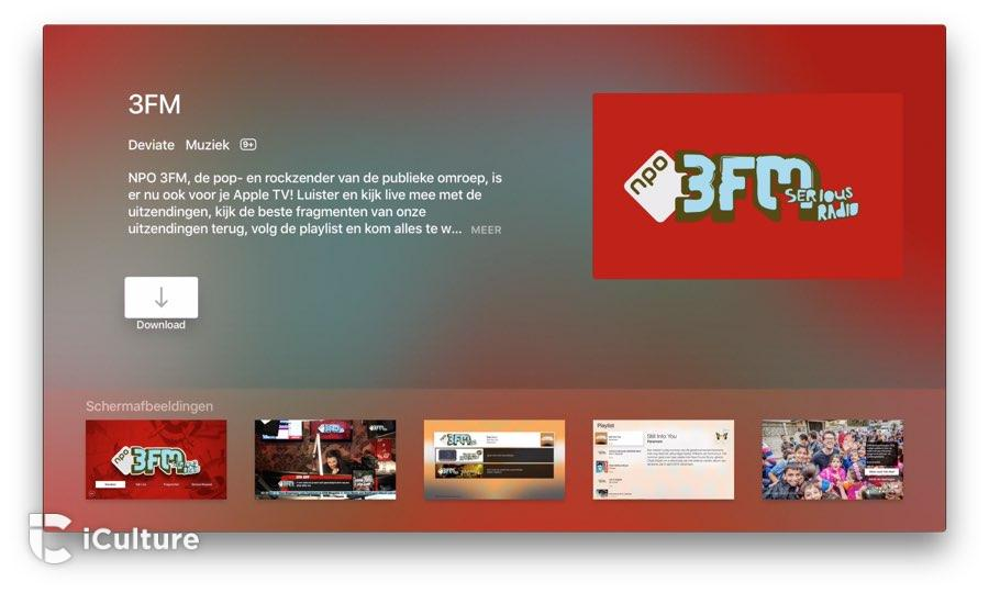 3FM op Apple TV: installeren