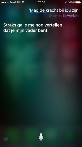 Siri-StarWars