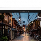 Adobe Photoshop Lightroom aangepast voor 3D Touch en iPad Pro