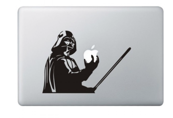 Darth Vader MacBook-sticker