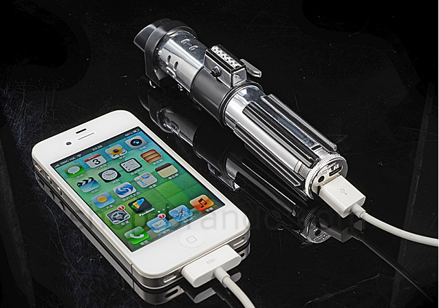Lightsaber-Powerbank