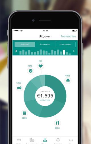 Grip-app: uitgaven bekijken in ABN AMRO-app