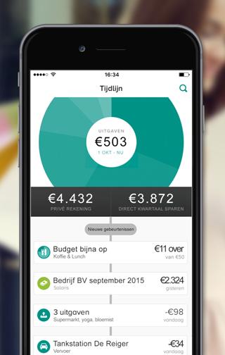 Grip-app: financieel overzicht van ABN AMRO