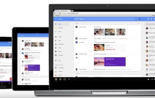Inbox by Gmail op apparaten.