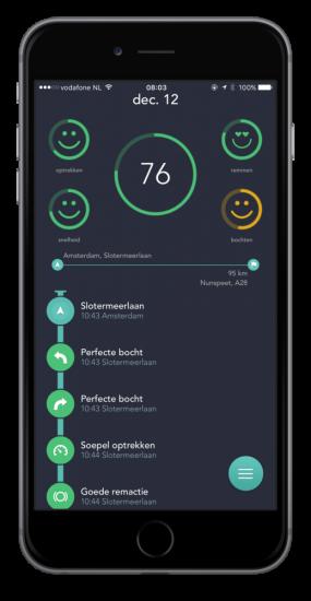 Flo-app levert korting op autoverzekering op