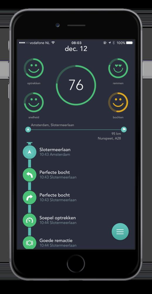 flo-app-rijgedrag-scherm