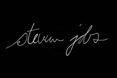 Steve Jobs handtekening