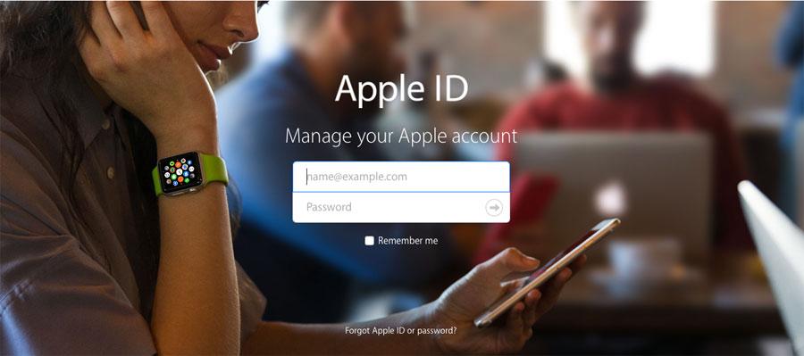 Beveiligingsvragen Apple ID