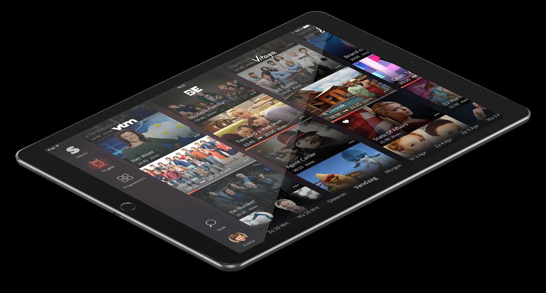 Stievie Free voor de iPad laat je tv-programma's en live tv kijken.