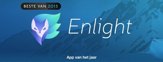 Enlight app van het jaar