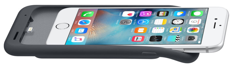 Apple Smart Battery Case, liggend