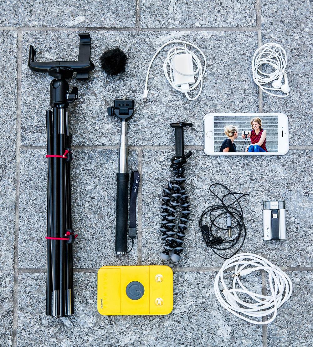 De uitrusting van Geertje Algera (foto: Shody Careman)