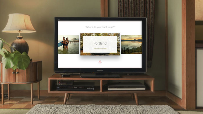 Apple TV AirBnB-app