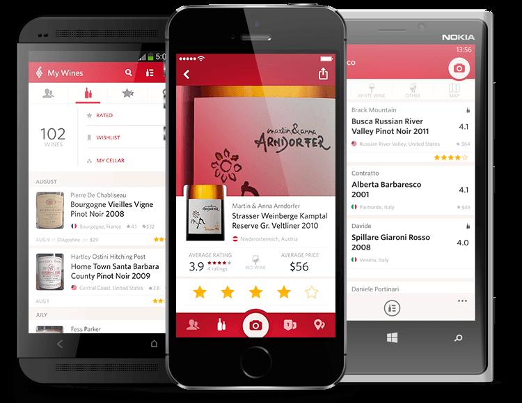 Vivino-app: makkelijk vergelijken van wijnen.