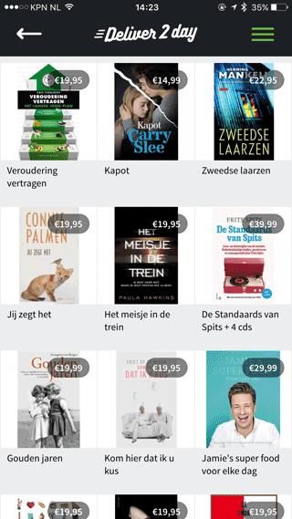 Deliver2day: boek kopen.