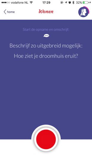 Spreek een zin uit in Sprekend Nederland.