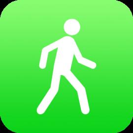 Pedometer++ voor iPhone en Apple Watch.