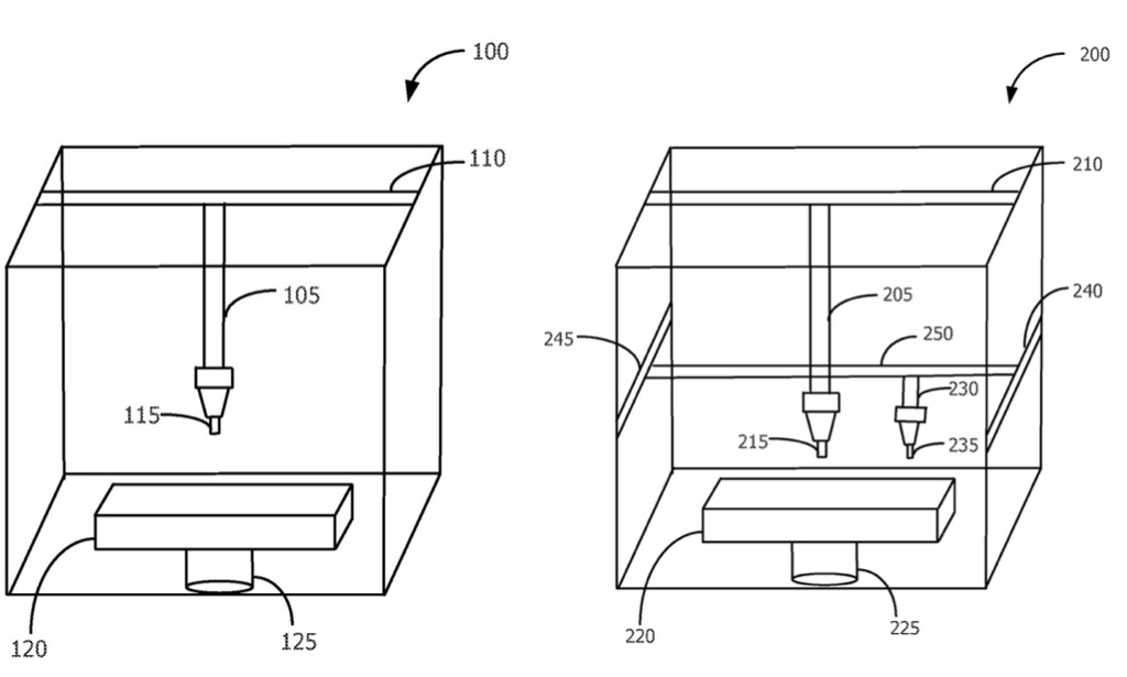 Apple patenteert een 3D-printer.