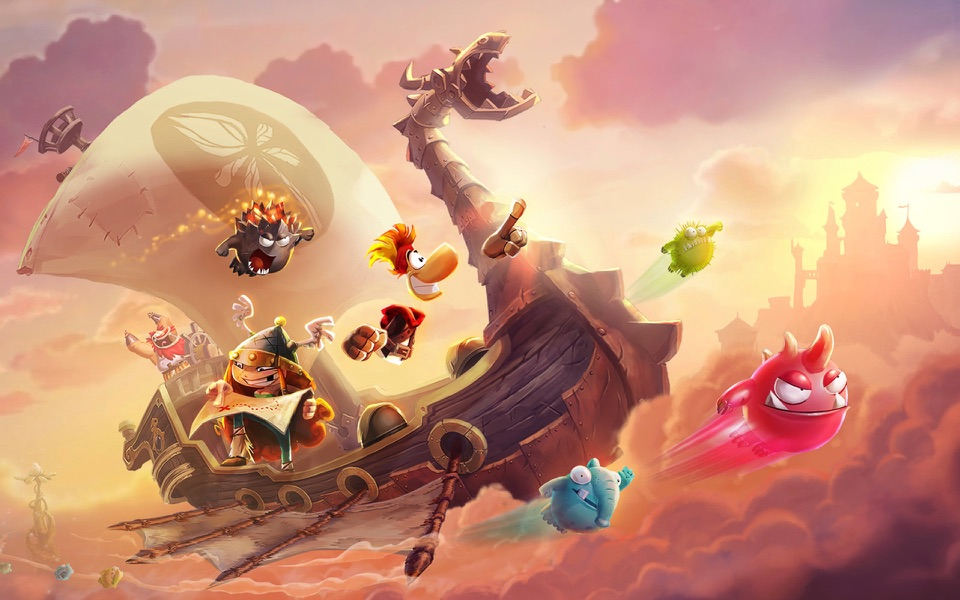 Rayman Adventures voor iOS en Apple TV.