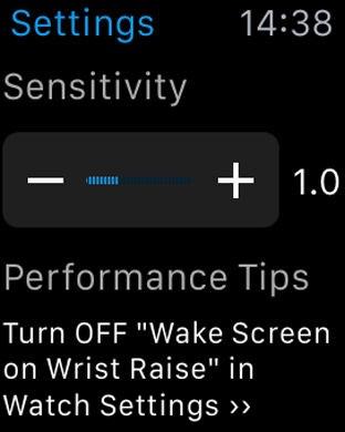Snap Tapp voor de Apple Watch.