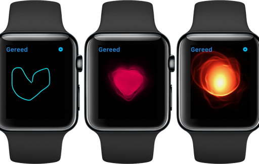 Hartslag sturen met Apple Watch