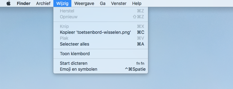Mac: emoji en symbolen gebruiken