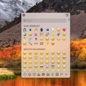 Zo kun je op de Mac emoji en andere speciale tekens invoeren