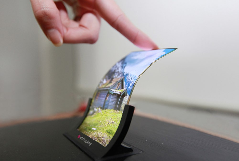 LG Flexibel OLED-scherm