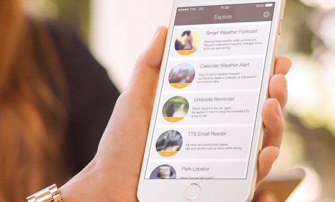 Atooma voor iPhone