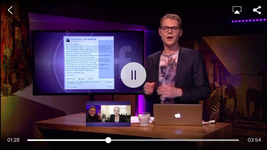 RTL XL scene kiezen