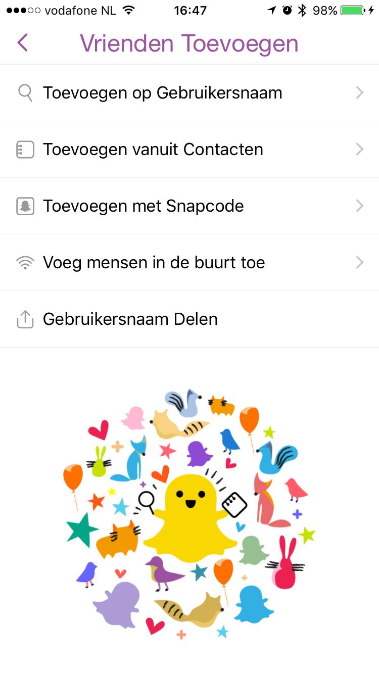 Maak een persoonlijke link aan en voeg sneller vrienden toe in Snapchat.