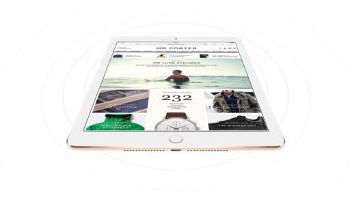 iPad Air 2 met draadloze verbinding.