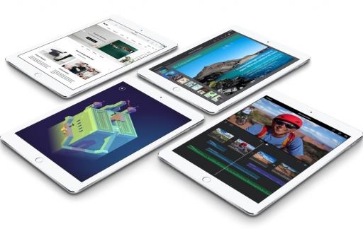 iPad Air 2 met verschillende apps.