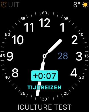 Tijdreizen met WatchNotes.