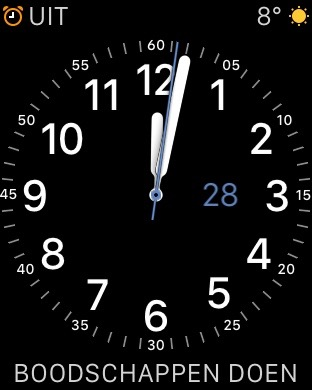 WatchNotes Complicatie