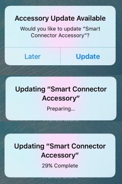 Smart Connector kan accessoires updaten