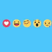 Facebook start uitrol 5 nieuwe icoontjes naast het 'vind ik leuk'-duimpje