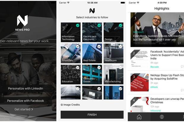 News Pro, nieuwe app van Microsoft