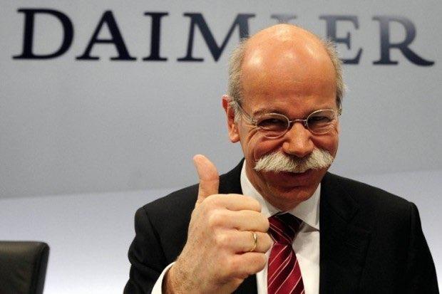 Daimler-topman Dieter Zetsche