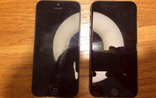 Gelekte foto: iPhone 5se met 4-inch scherm