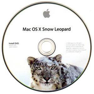 Snow Leopard op DVD