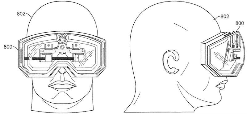 Apple patent toont VR-bril