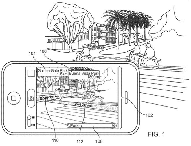 Apple Virtual Reality patent