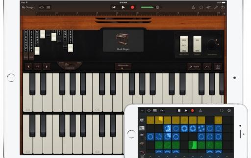 Garageband voor iOS heeft een update gekregen met meer functies.