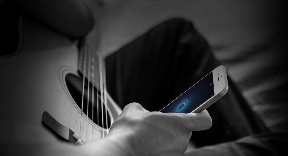 Muziekmemo's voor de iPhone.