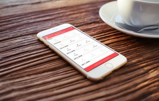 Music Tracker voor de iPhone.